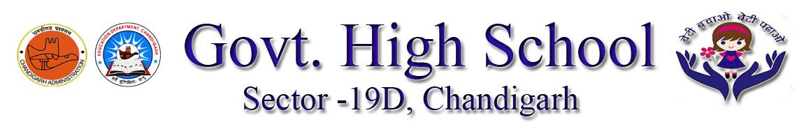 Govt. High School Sec-19 D